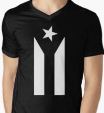 Puerto Rico Black & White Protest Flag T-Shirt