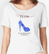 Katherine Pierce Team - The Vampire Diaries Women's Relaxed Fit T-Shirt
