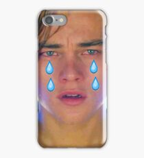 Leo Cryin' Emoji Tears iPhone Case/Skin