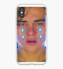 Leo Cryin' Emoji Tears iPhone Case
