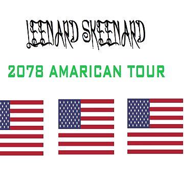 LEENARD SKEENARD AMARICAN TOUR by loloman23