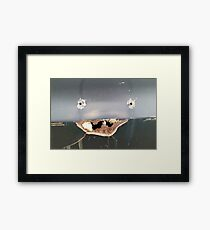 Rustic Smile Framed Print