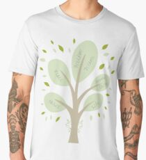 Tree of Life and Wisdom Men's Premium T-Shirt