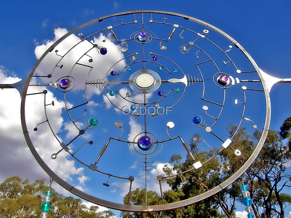 SUBCULTURE CREATIONS at RAINBOW SERPENT FESTIVAL '08 by OZDOOF