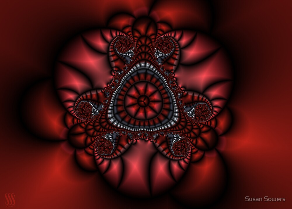 Fractal Valentine by Susan Sowers