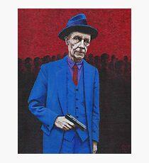 William S. Burroughs Photographic Print