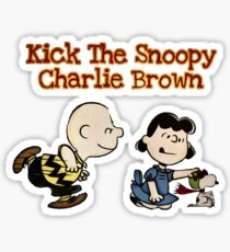 Snoopy Charlie Brown (Peanuts)  Sticker