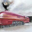 6229 The Duchess of Hamilton by JohnLowerson