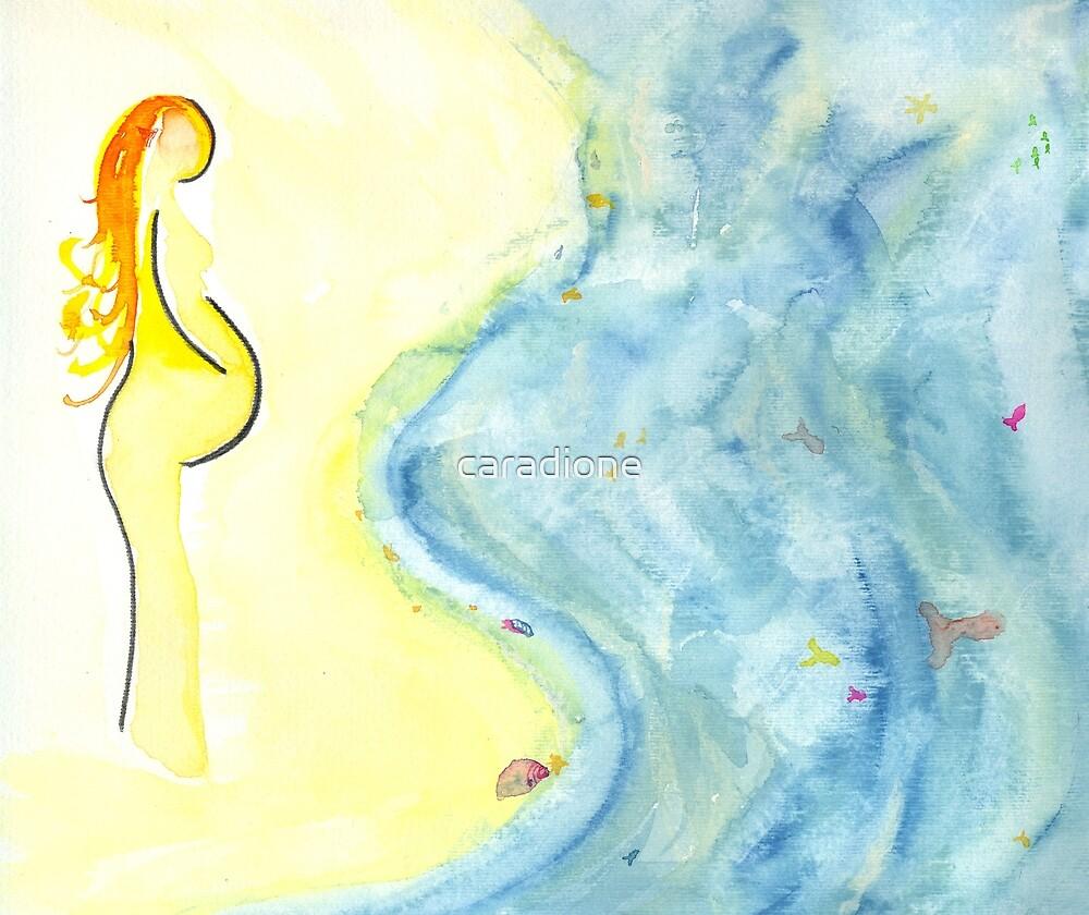 she waits.. by caradione