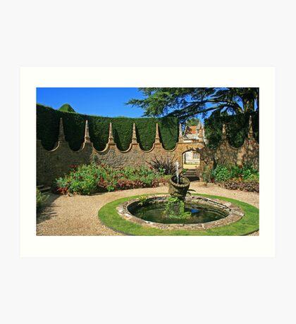 The Corona Garden Art Print