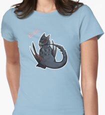 Monster Hunters - Nargacuga BLEH Women's Fitted T-Shirt