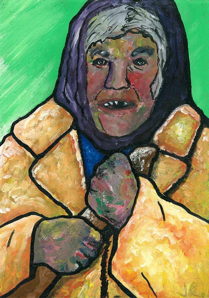 Old Baltic Woman by jason richardson