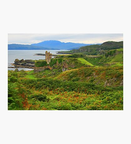 Gylen Castle Photographic Print