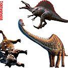 Dinosaurs - Set 2 by Mark A. Garlick