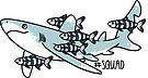 Oceanic Whitetip Squad by Jen Richards
