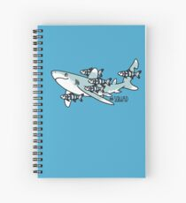 Oceanic Whitetip Squad Spiral Notebook