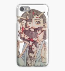Shintaro Kago iPhone Case/Skin