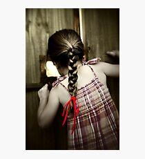 Red Ribbon... Photographic Print