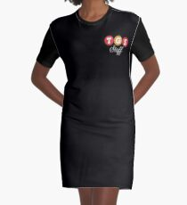 TGS Staff Logo Graphic T-Shirt Dress