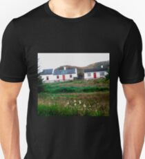 Cottages in Donegal, Ireland Unisex T-Shirt