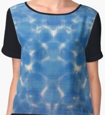 Sky and Water Reflection Chiffon Top