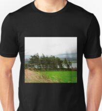 Windblown Trees, Donegal, Ireland Unisex T-Shirt