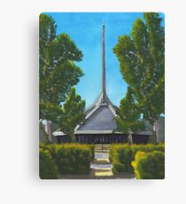 North Christian Church - Columbus, Indiana Canvas Print