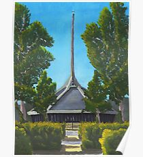 North Christian Church - Columbus, Indiana Poster