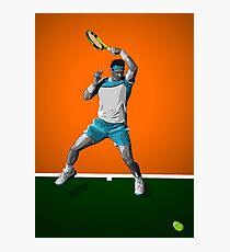 Rafa Nadal - Tennis Photographic Print