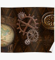 steampunk devices posters redbubble