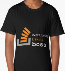 Overflowing like a boss Long T-Shirt
