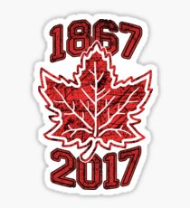 Canada 150 Celebration Sticker