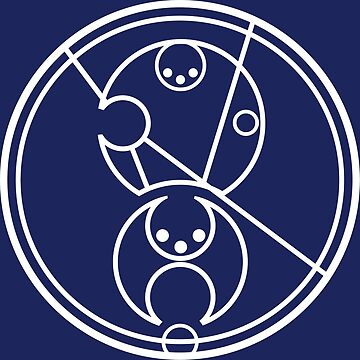 Bad Wolf - Circular Gallifreyan by geekerymade