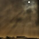Moon Over The Wayoh by kathywaldron
