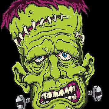 Klassischer Frankenstein von SandiTyche