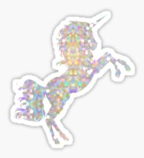 Iridescent Unicorn Sticker