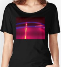 Neon Red Blue Yellow Women's Relaxed Fit T-Shirt