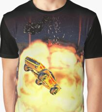Rocket Demolition Graphic Shirt Graphic T-Shirt