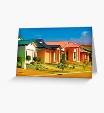 Casas Graficas Greeting Card