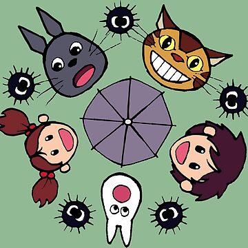 Totoro Wheel by Breeze-Kruse