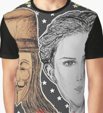 (V For Vendetta - We The People) - yks by ofs珊 Graphic T-Shirt