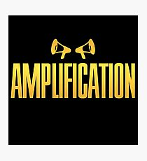 Golden Amplification Photographic Print