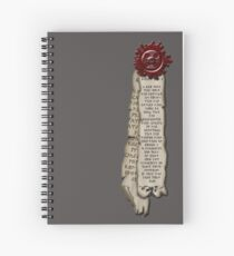 Purity Seal Spiral Notebook