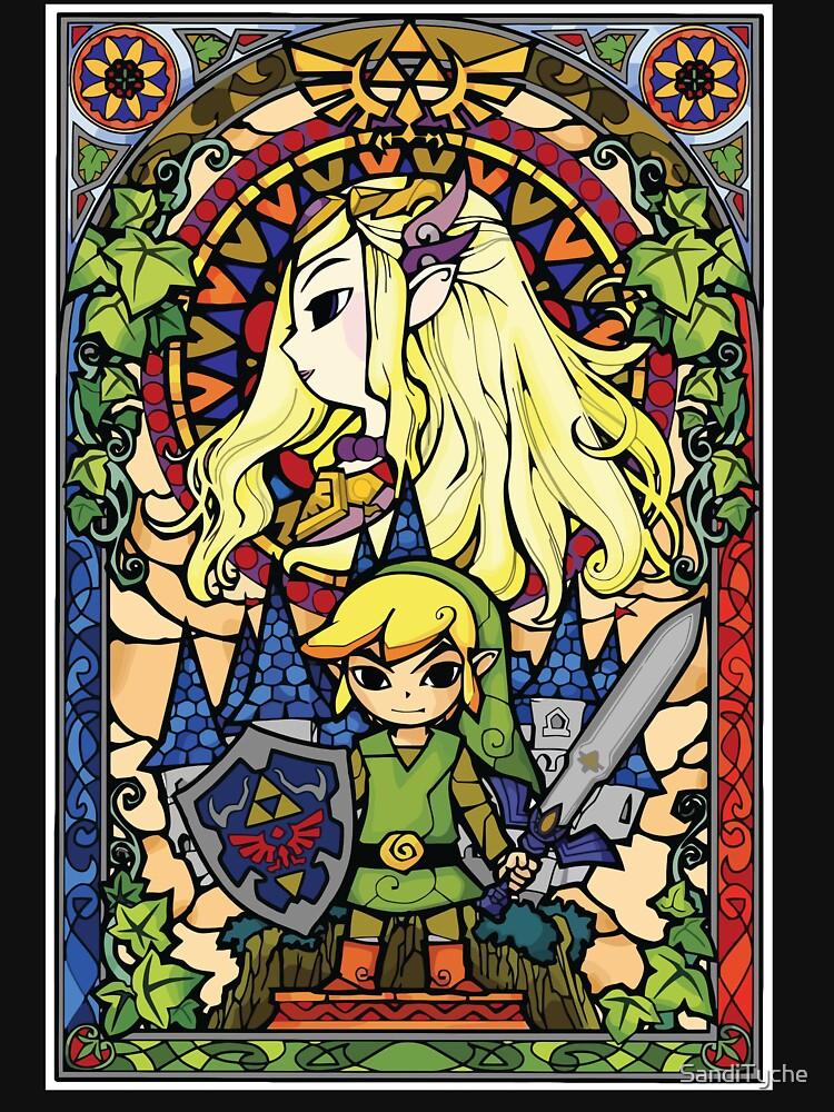 Zelda & Link by SandiTyche