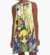Vestido acampanado Zelda y enlace