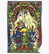 Zelda & Link Poster