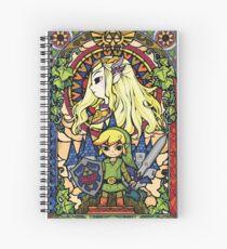 Zelda & Link Spiral Notebook