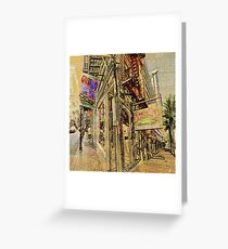 NEW ORLEANS GUMBO Greeting Card