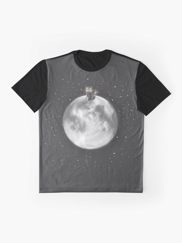Alternate view of Lost in a Space / Moonelsh Graphic T-Shirt