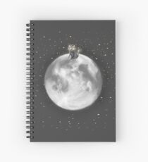 Lost in a Space / Moonelsh Spiral Notebook
